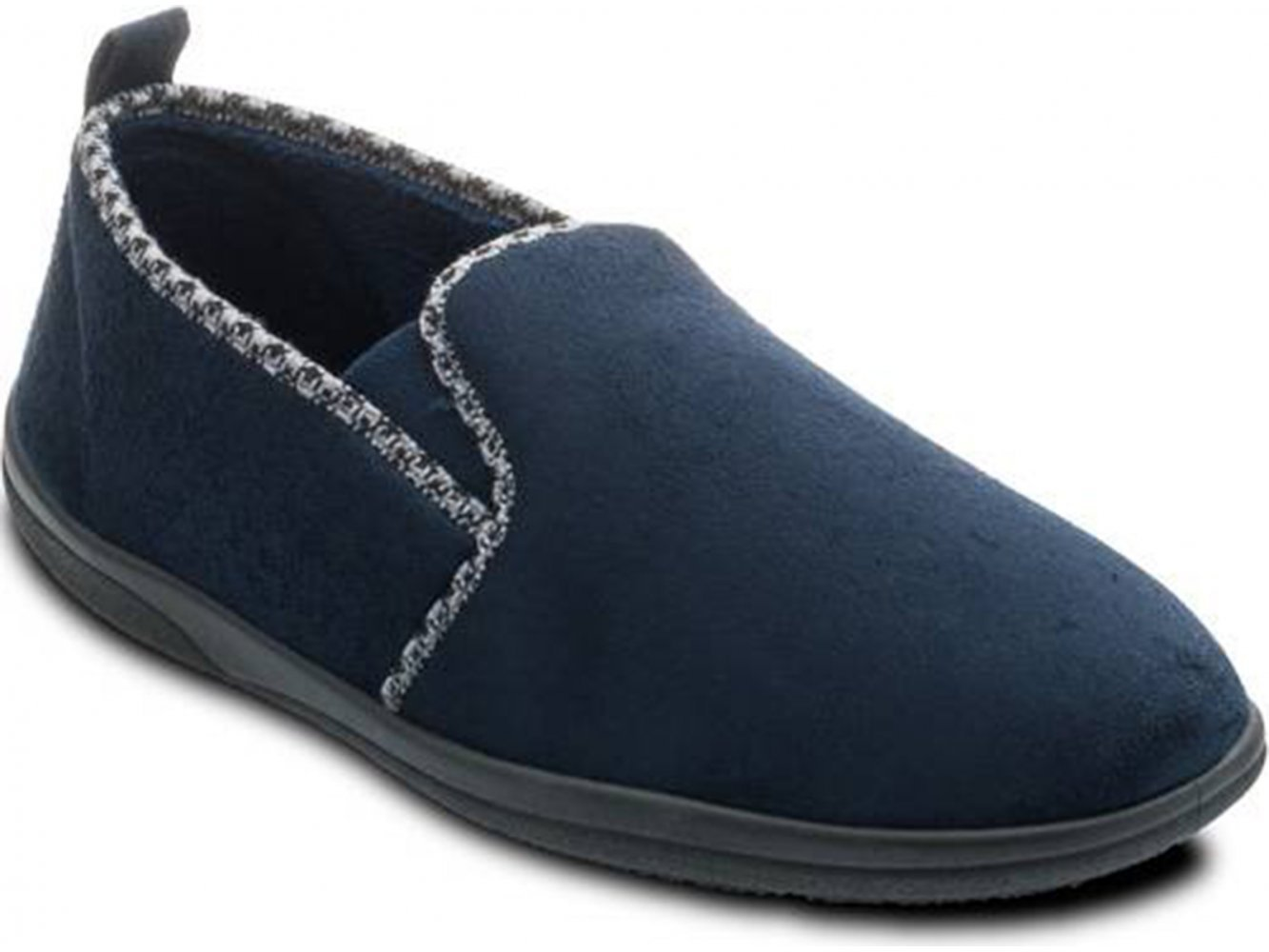 Padders LEWIS Mens Microsuede Wide G Fitting Full Slippers Navy  Amazoncouk Shoes  Bags