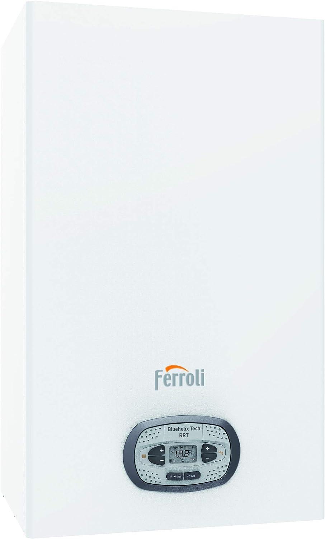 Ferroli - Caldera de pared de condensación GPL y metano, 34 kW, Bluehelix Tech RRT C34