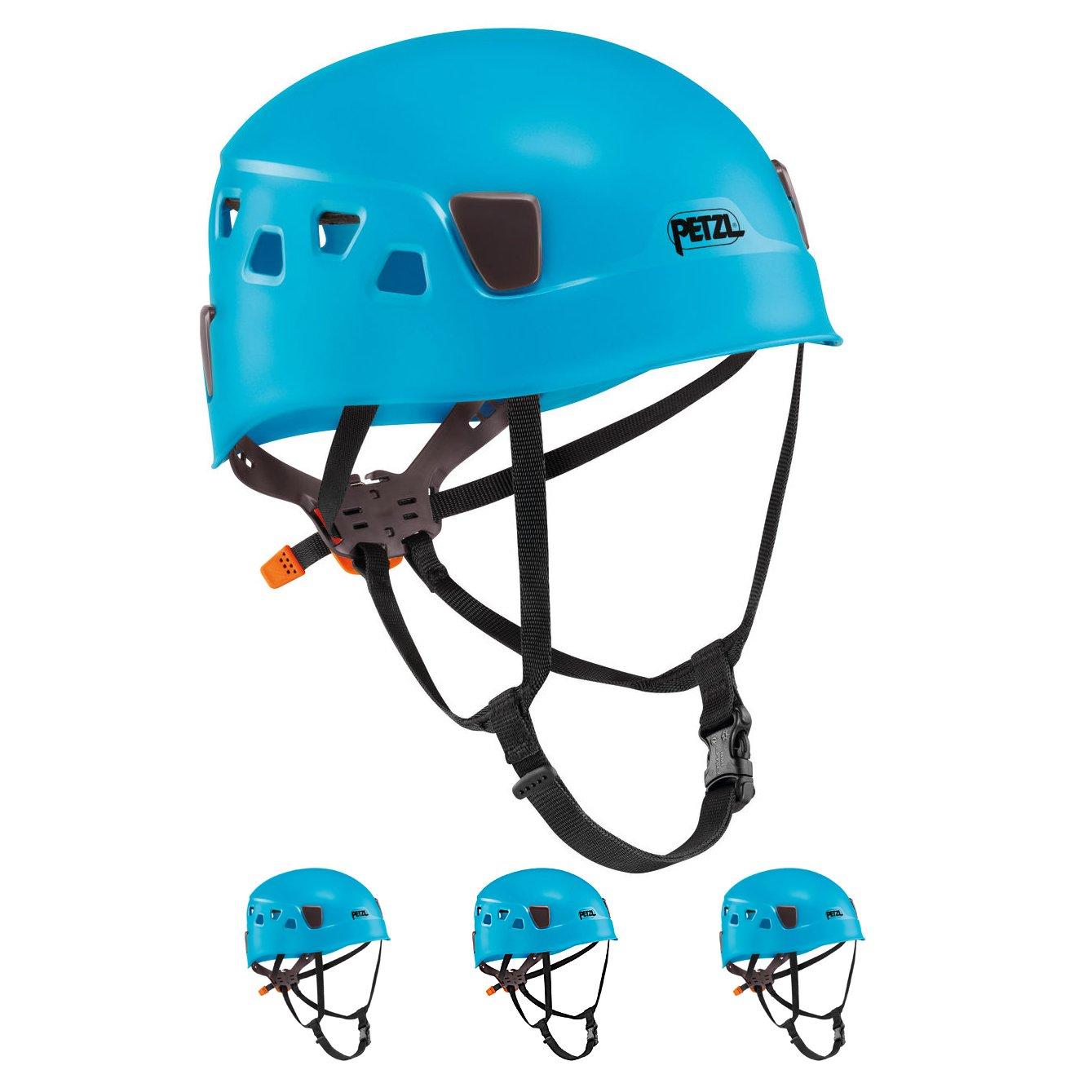 Petzl Panga azul escalada casco para grupo y Club uso (4 unidades ...