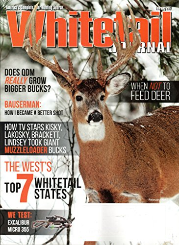 Whitetail Journal Magazine February 2017 | When not to Feed Deer