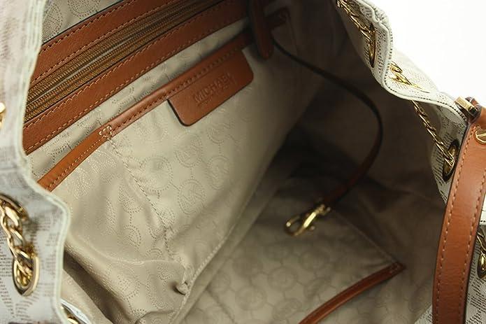962732495186 Amazon.com: L Michael Kors Jet Set Chain Item Large Gather Shoulder Tote  Vanilla: Shoes