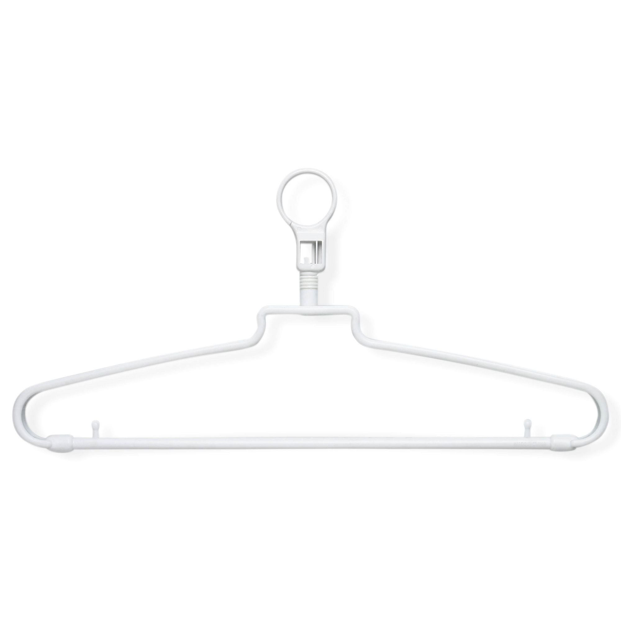 Honey-Can-Do Hotel Hangers with Security Loop (72 Pack)