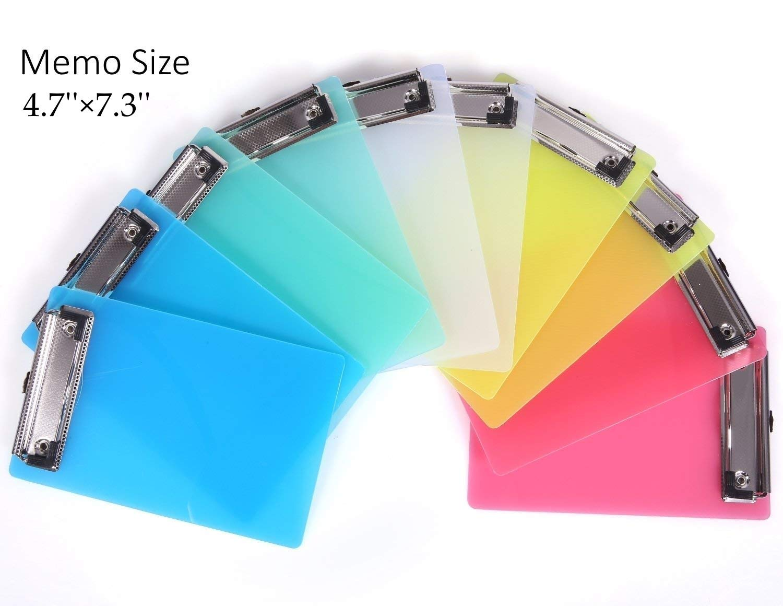 Amazon.com: Mini portapapeles, 5 Color: Office Products