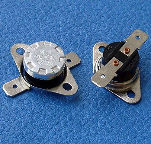 electronics-salon 10/pcs KSD301/Normalmente Abierto No 95//°C termostato interruptor de temperatura del disco bimet/álico.