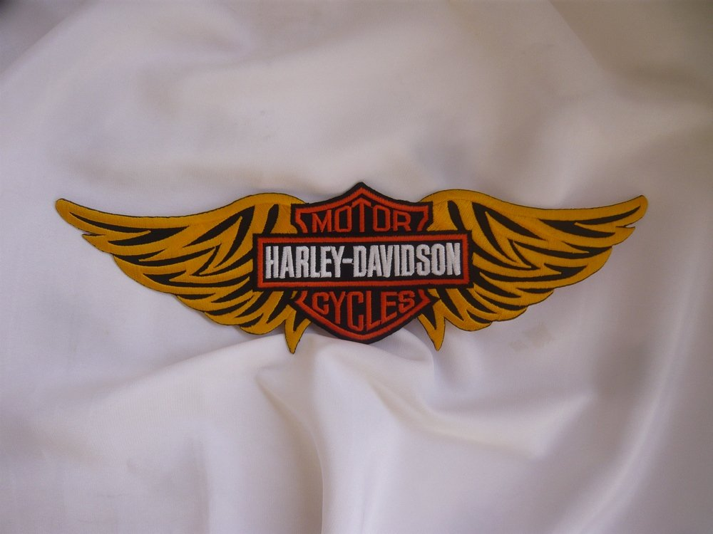Harley Davidson llavero Insignia Emblema Adhesivo: Amazon.es ...