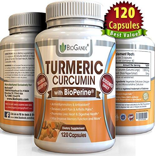 Turmeric Curcumin Extract Supplement wit