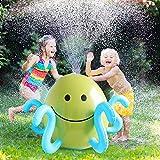 Yuhebaby Kids Sprinkler, Sprinkler Ball Toy, Summer Fun Inflatable Sprinkler, Water Spray Ball