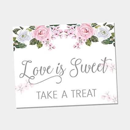 Amazon Oh Baby Stickers Rose Themed Love Is Sweet Candy Bar