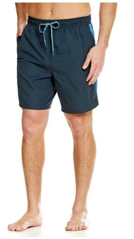 ad82b19acbdf Nike NESS6351 Mens Volley Short 7 Shorts Navy Swim Trunk Shorts Drawstrings