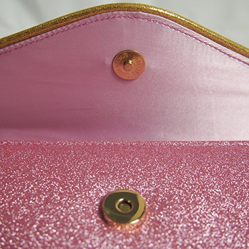 Pink for sparkly TOIHSUAN with wedding shoulder strap bags women's rhinestones evening clutches PYwqCHB