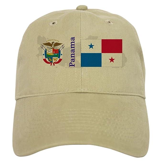 ba89fae4b Amazon.com: CafePress Panama Cap Baseball Cap with Adjustable ...