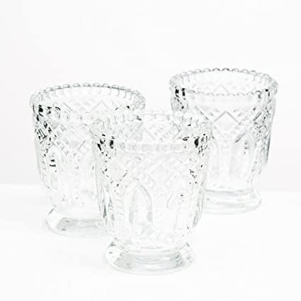 e2d795a309 Image Unavailable. Image not available for. Color: Richland Votive Holder  Clear Textured ...