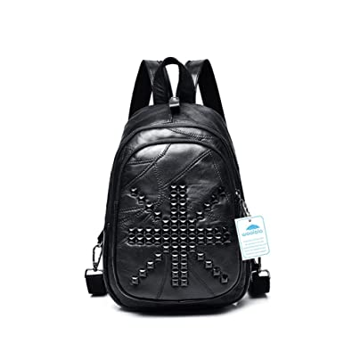 2969cee0111c Yoome Fashion Rivet Studded Multifunction Waist Pack Ladies Handbag for  Travling Shopping Hiking British flag pattern  Amazon.co.uk  Shoes   Bags
