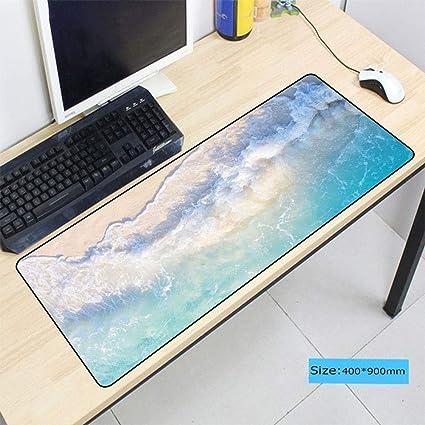 HONGHUAHUI Alfombrilla para teclado de playa Alfombrilla grande ...