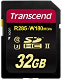 Transcend Ultimate 32GB Class 3 UHS-II SDHC Memory Card (TS32GSD2U3)