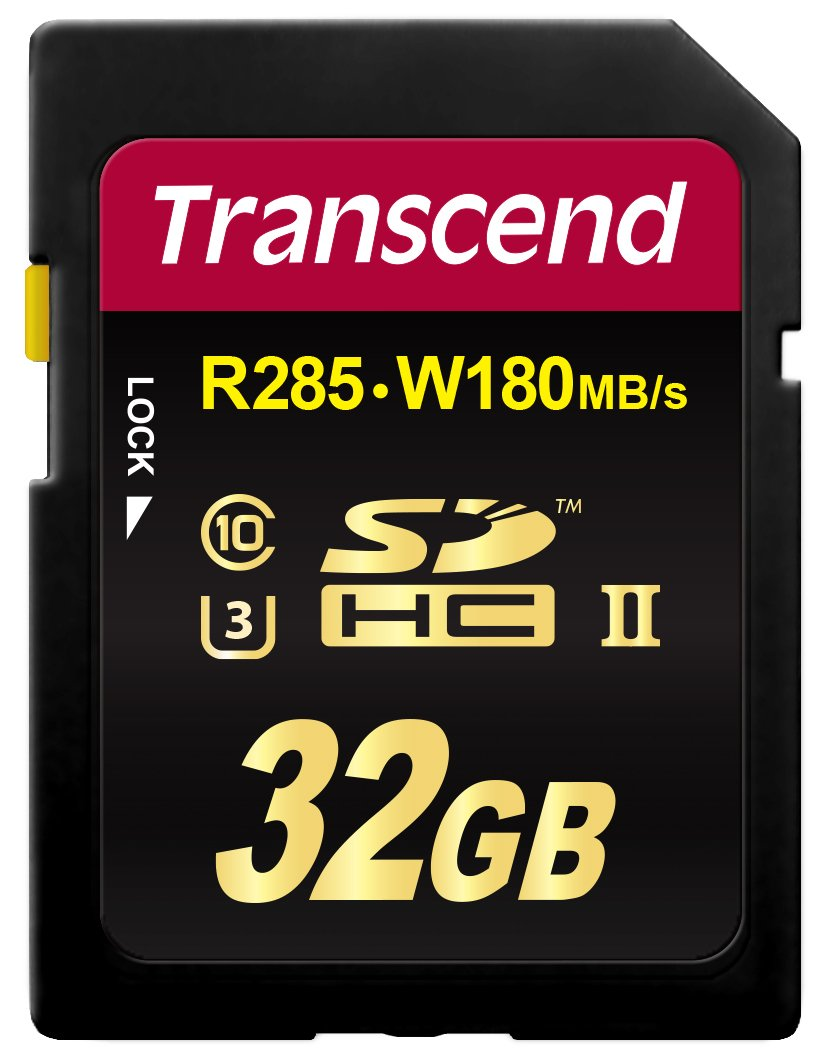 Transcend 32GB Class 10 SDHC UHS-II SD Card (TS32GSD2U3) by Transcend (Image #1)