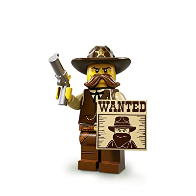 LEGO Minifigures Series 13 Sheriff Construction Toy: Toys & Games