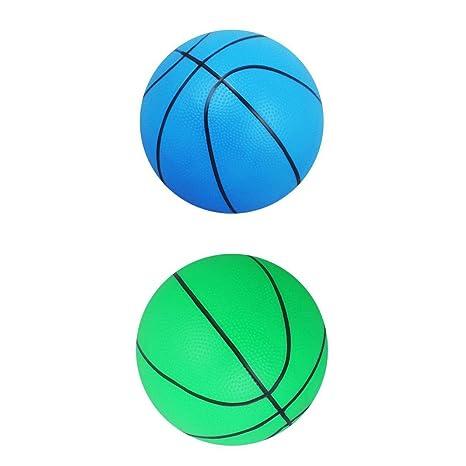 Sharplace 2pcs Juguetes Mini Baloncesto Juegos de Deportes al Aire ...