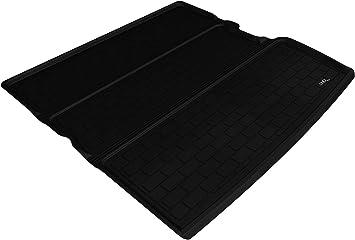 Gray 3D MAXpider Second Row Custom Fit All-Weather Floor Mat for Select Honda Pilot Models Kagu Rubber
