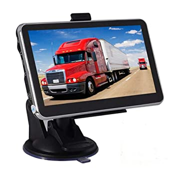 Navegación GPS, 8Gb / 256Mb Coche GPS Pantalla Táctil ...