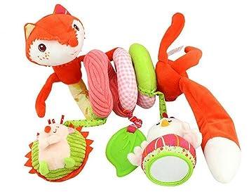 Amazon.com: Fox cama colgar juguetes, espiral Actividad ...