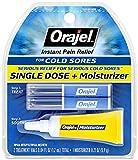 Orajel Single Dose Cold Sore Treatment Plus Moisturizer, 0.04 Oz