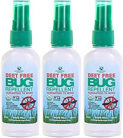 Amazon Com Greenerways Organic Insect Repellent Travel Size