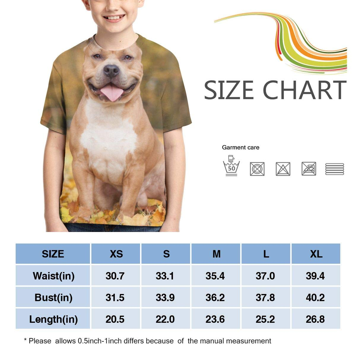AMODECO Pitt 3D Printed Tee T-Shirt for Youth Teenager Boys Girls