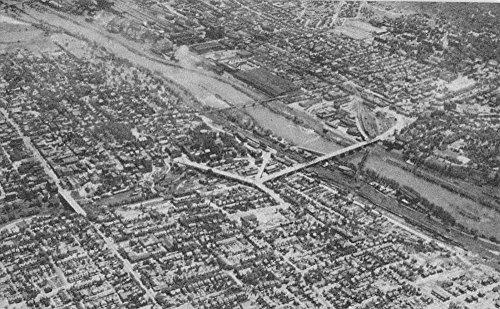 Bethlehem Pennsylvania Birdseye View Of City Antique Postcard K66185 (Bethlehem Pennsylvania City)