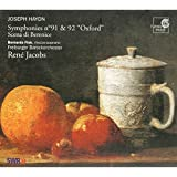 Symphonies - Nos. 91 And 92 'oxford' (Jacobs)