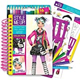Style Me Up! Sketchbook-to-Go Famous Cities Kids Art Craft
