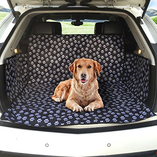 FREESOO Oxford Pet Dog Trunk Cargo Liner Waterproof Car SUV Van Rear Trunk Cover Pet Dog Seat Cover Washable