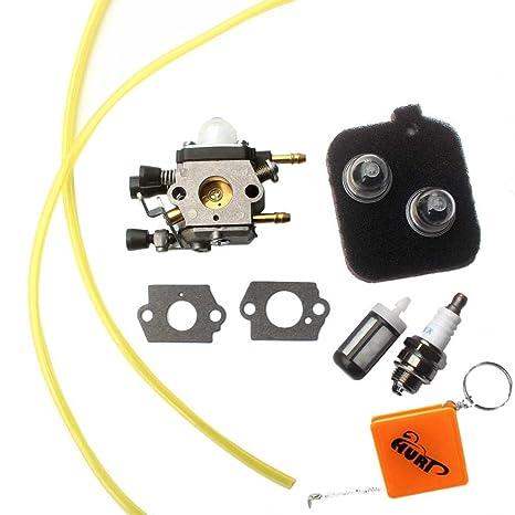 hurí Carburador + Gasolina Filtro para Stihl BG45 BG46 bg55 ...