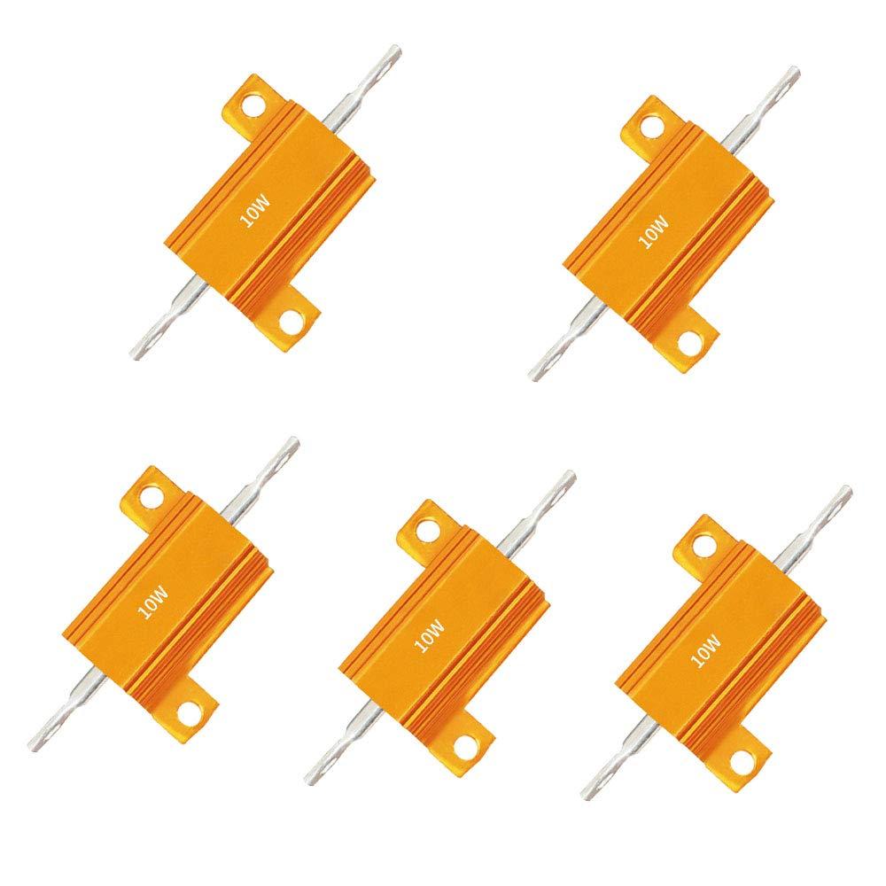 //-5/% Resistor Resistencia de cemento de alta potencia 5 un 1 Ohm 1R 10W//10 vatios