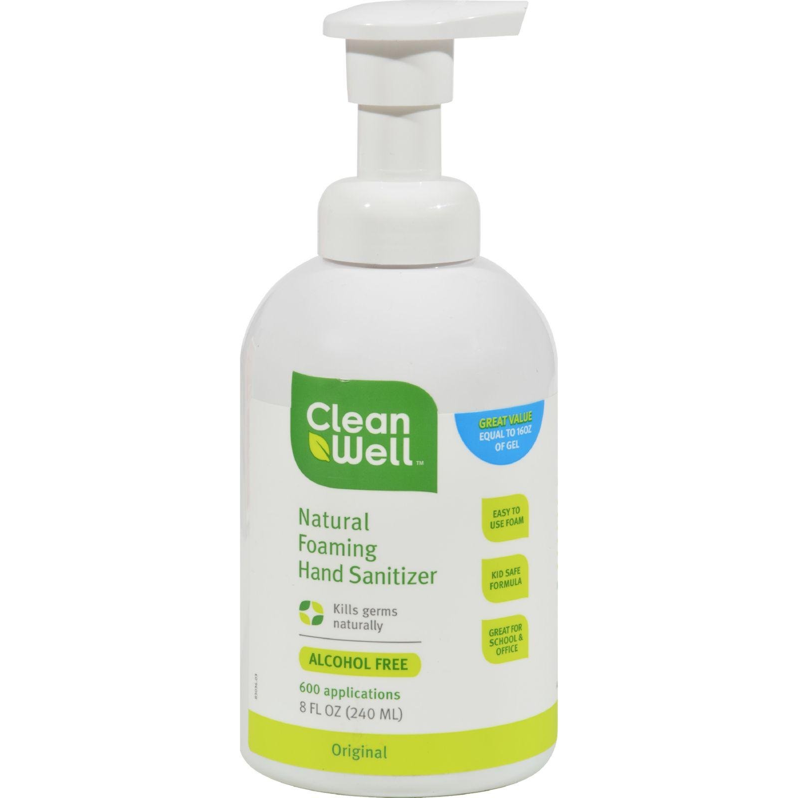 Cleanwell Hand Santz Foam 8 OZ