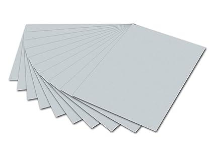 1 Bogen Schwarz Fotokarton 300g//qm 50x70 cm