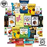 Vegan and Gluten Free Healthy Snacks, Mixed Premium Set of Snacks Includes Nuts, Snack Bars and (25 Count) For Sale