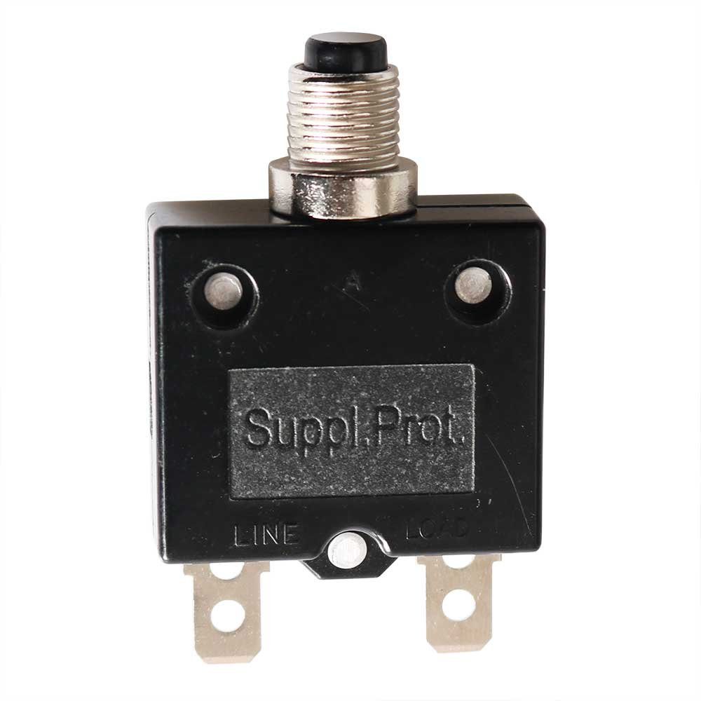 Superior Electric SE20OLS 20 Amps Push Button Thermal Circuit Breaker Reset Boot Switch