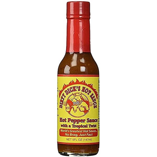 Dirty Dick S Hot Sauce Hot Pepper Sauce With A Tropical Twist By N A Amazon Ca Grocery