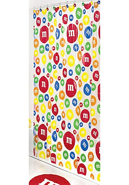 MMs Candy Shower Curtain