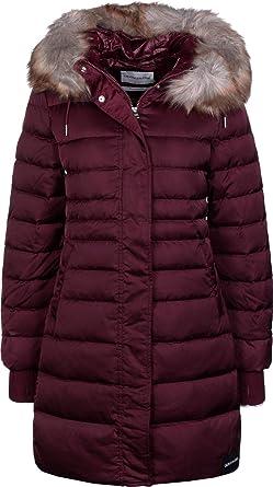 Calvin Klein Mid Weight Long Parka Down Jacket: