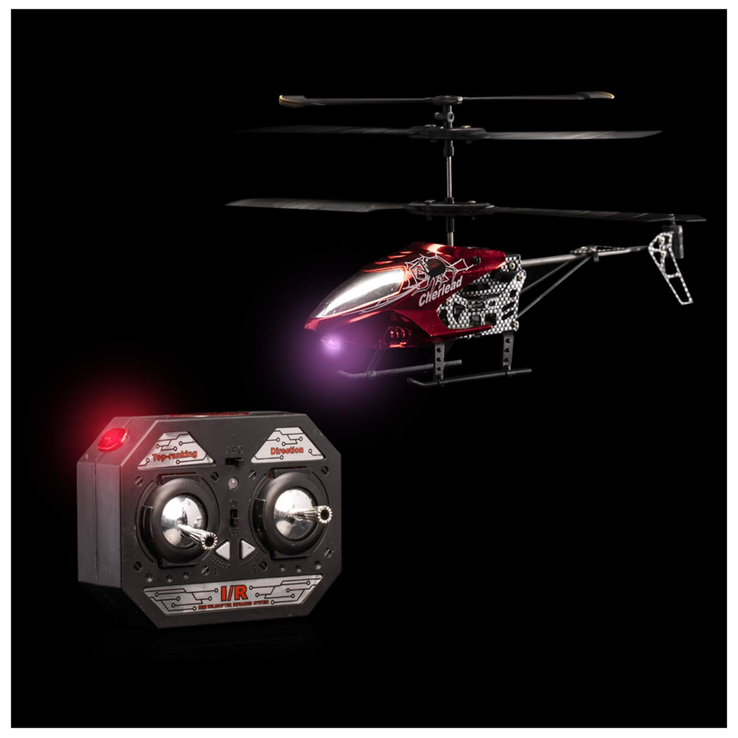 Lumistick Light-Up Helicopter Remote Control 25 Pieces