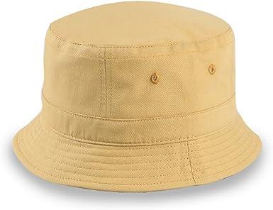 YaToy Gorra redonda de moda Gorra de senderismo Pescador Sombrero ...