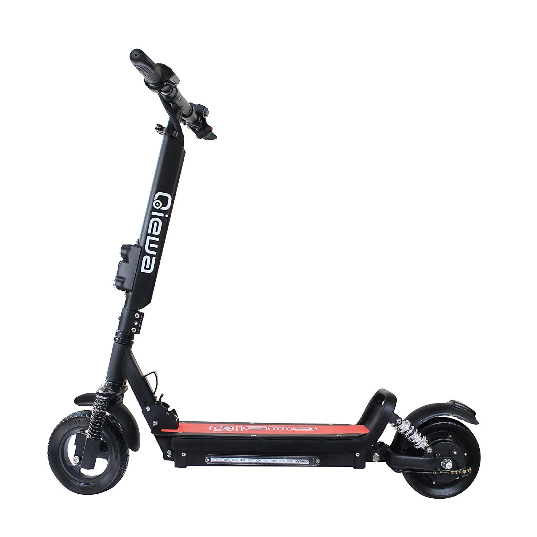 Qiewa Qmini Electric Scooter with 45 degree dual shock 12cm ...