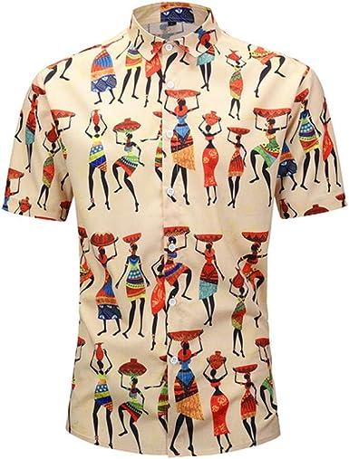 Camisa Floral Hombre3D Personas Camisas Estampadas Camisa de ...