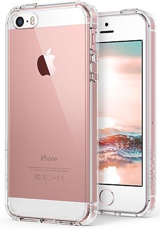 Ringke Rearth Fusion - Carcasa Trasera Personalizable para Apple iPhone 5/5S, Transparente