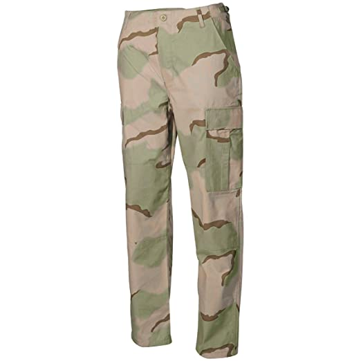 pretty and colorful beauty superior performance MFH BDU Combat Trousers Ripstop 3-Colour Desert at Amazon ...