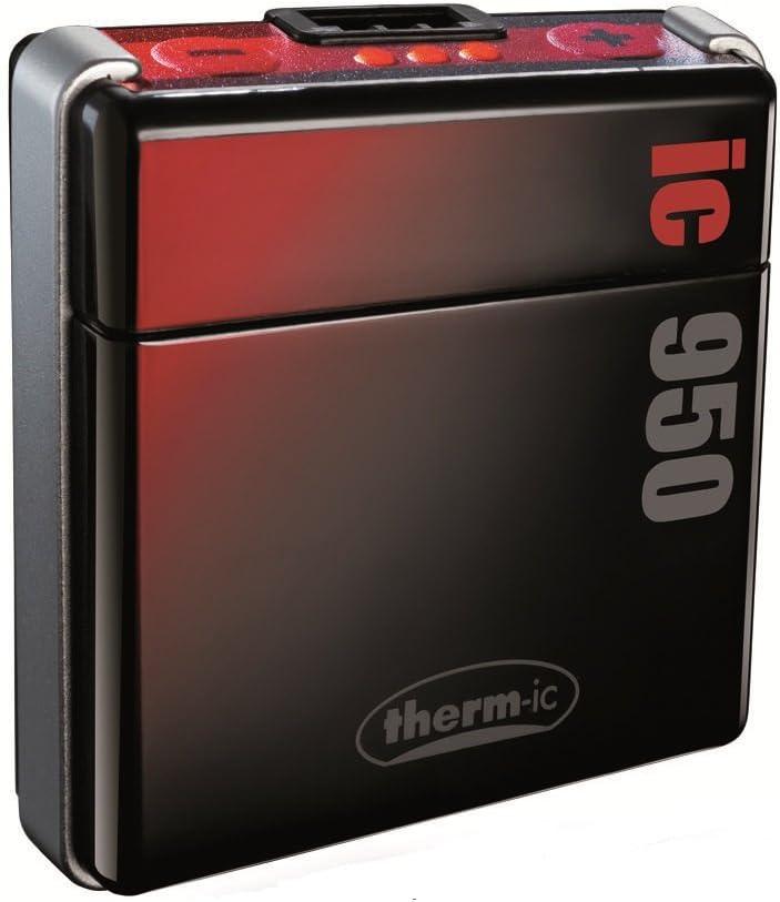 Thermic Smart Pack IC 950 - Baterías para calefacciones de Botas de esquí, Color Negro