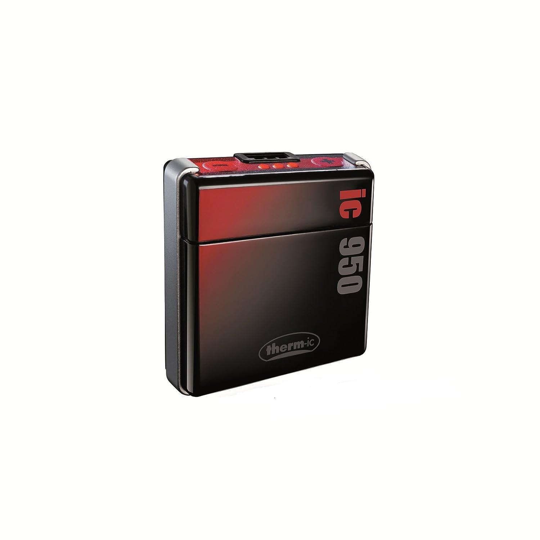 Thermic Smart Pack IC 950 - Baterías para calefacciones de botas de esquí, color negro negro negro, rojo y plateado Talla:talla única