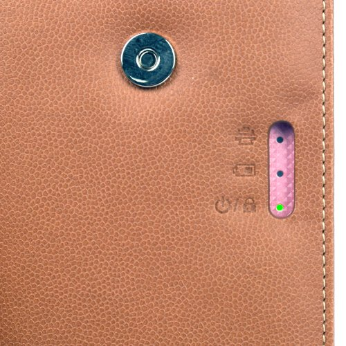 Atout Premium Vintage Synthetic Leather Cover Case [Brown] for LG PD239 Pocket Photo Printer Case Photo #9